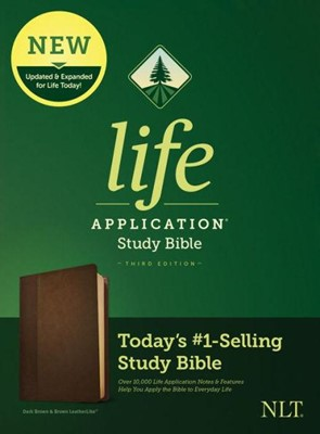 NLT Life Application 3rd Ed. SB LL Brown (Imitation Leather)