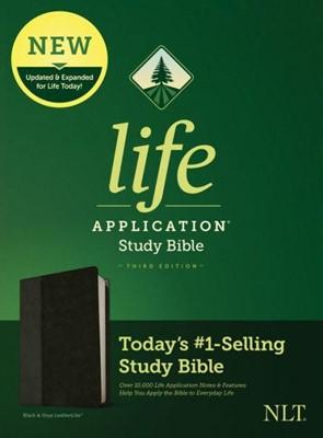 NLT Life Application 3rd Ed. SB LL Blk