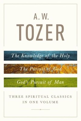 A. W. Tozer 3 in One (Hard Cover)