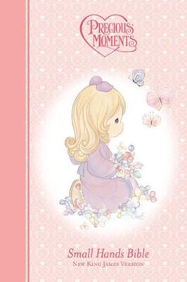 NKJV Precious Moments Bible Pink (Hard Cover)