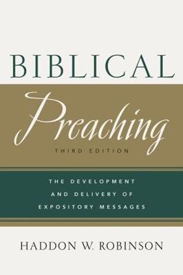 Biblical Preaching 3rd Edition (Hard Cover)