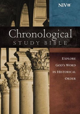 NIV Chronological Study Bible HC (Hard Cover)