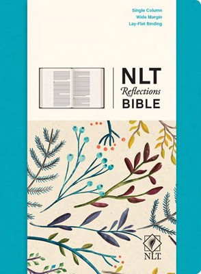 NLT Reflections Bible HC Teal (Hard Cover)