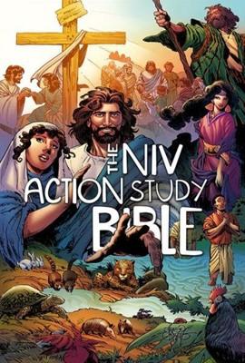 NIV Action Study Bible HC (Hard Cover)