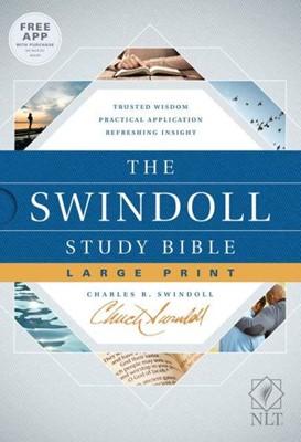 NLT Swindol Study Bible LP HC (Hard Cover)