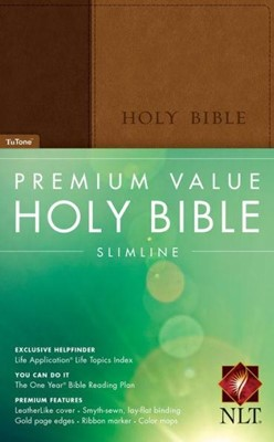 NLT Premium Value Slimline LL Brn Tan (Imitation Leather)