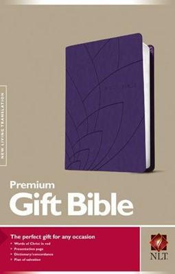 NLT Premium Gift Bible LL Purple (Imitation Leather)