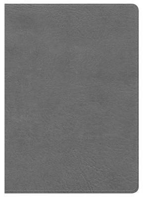 KJV Large Print Compact Ref Bible Black LT (Imitation Leather)