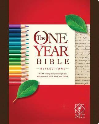 NLT One Year Bible Reflections HC (Hard Cover)