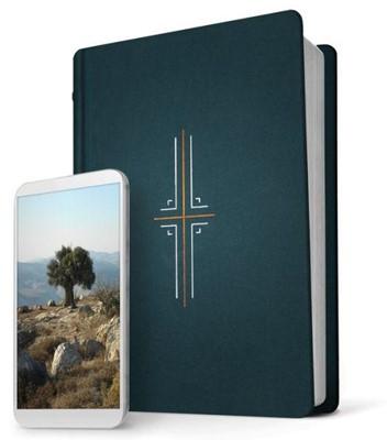 NLT Filament Study Bible Midnite Blue (Hard Cover)