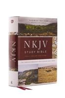 NKJV Study Bible, Hardcover, Full-Color, Comfort Print (Hard Cover)