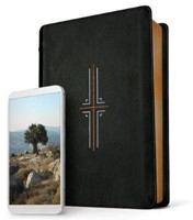 NLT Filament Study Bible Black LL (Imitation Leather)
