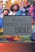 NIV Action Study Bible Premium (Imitation Leather)