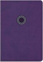 NKJV Deluxe Gift & Award Bible Purple (Imitation Leather)