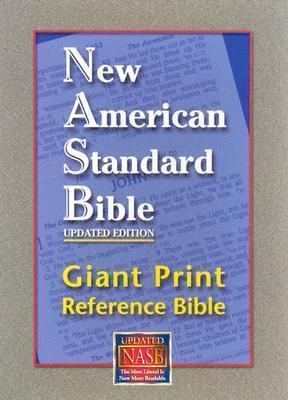 NASB Giant Print Reference Bibe Black Genuine