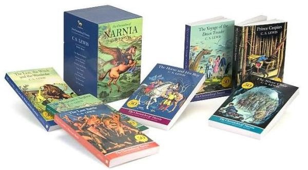 Chronicles of Narnia Full Color Boxed Set