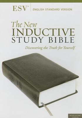 ESV New Inductive Study Bible - Charcoal
