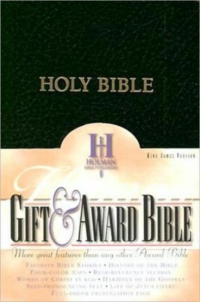 KJV Gift & Award Bible Black