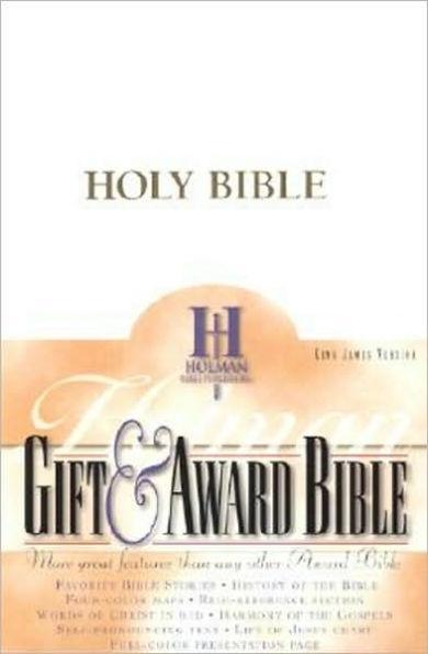KJV Gift & Award Bible White