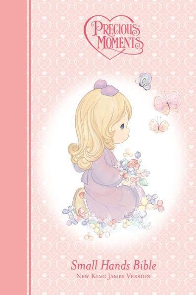 NKJV Precious Moments Bible Pink