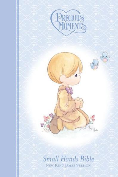 NKJ Precious Moments Bible Blue