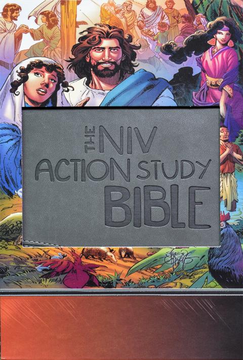 NIV Action Study Bible Premium