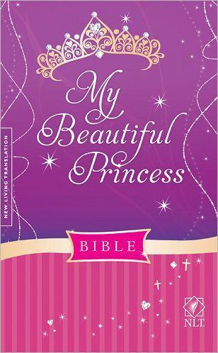 NLT MY Beautiful Princess Bible HC
