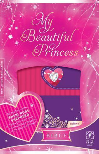 NLT My Beautiful Princess Bible LL Pink