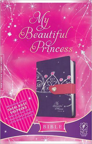 NLT My Beautiful Princess Bible LL Purple