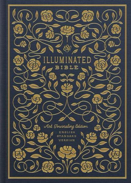 ESV Illuminated Bible Journaling Art Ed Cloth Overboard