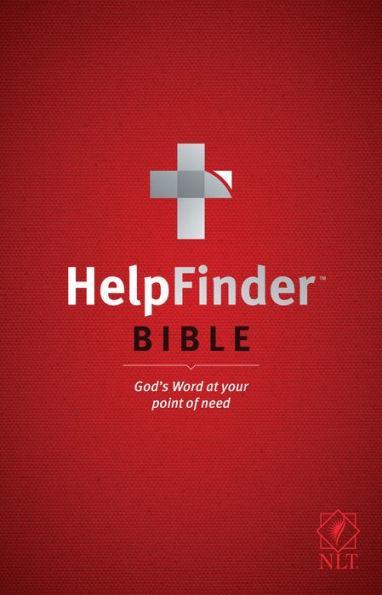 NLT Help Finder Bible SC