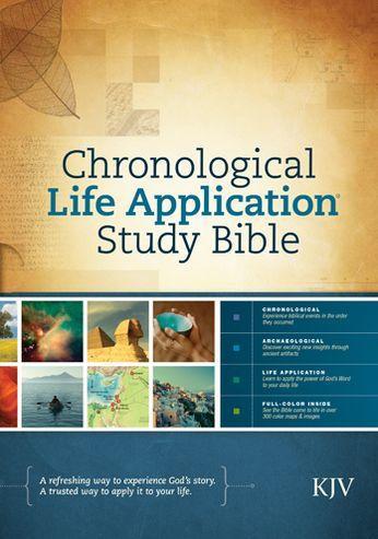 KJV Chronological Life Application Study Bible HC