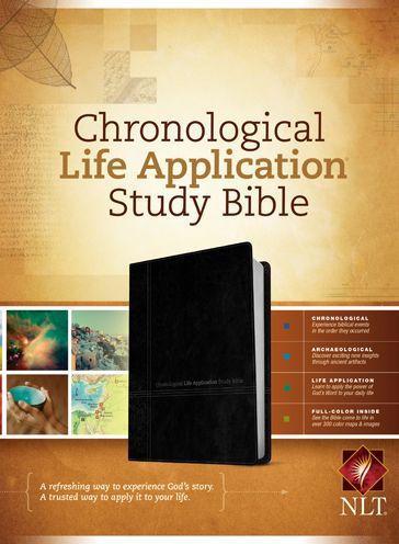 NLT Chronological Life Application LL Black