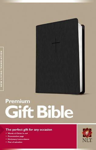 NLT Premium Gift Bible LL Black