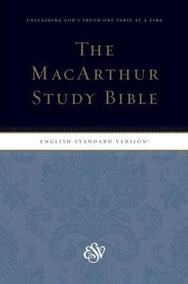 ESV The MacArthur Study Bible PS HC