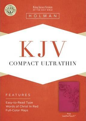KJV Compact Ultrathin Pink LT
