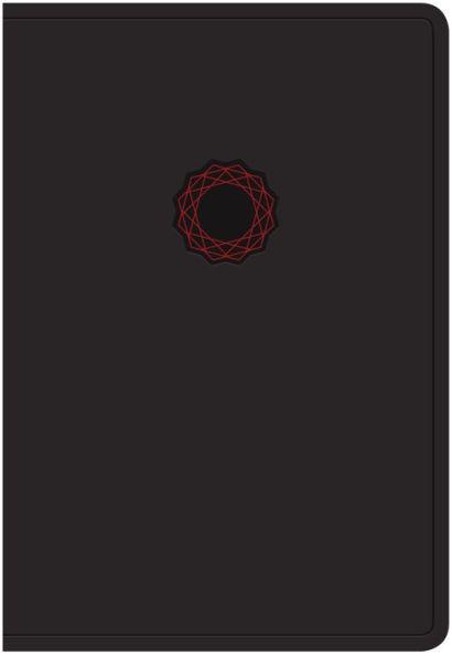 KJV Deluxe Gift Bible Black Red