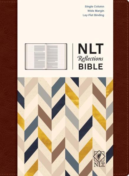 NLT Reflections Bible HC Brn