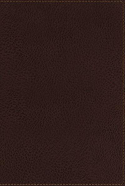NKJV CLASSIC SERIES GIANT PRINT REF. BIBLE EARTH BRN LS