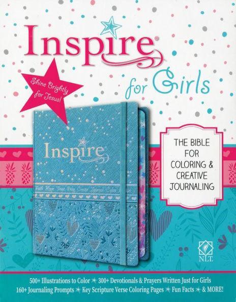 NLT Inspire Bible for GirlsHC