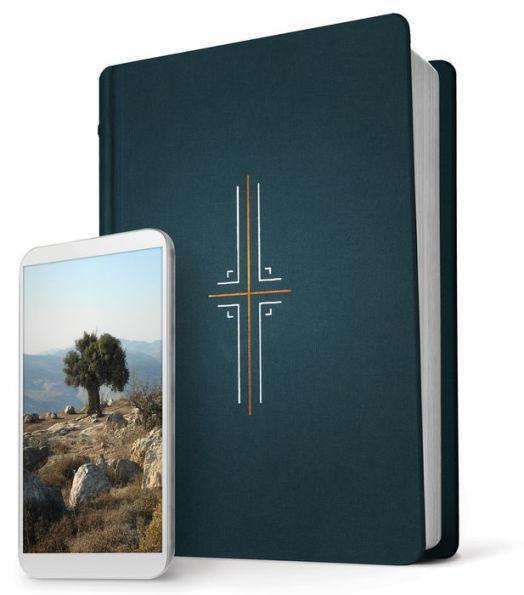 NLT Filament Study Bible Midnite Blue
